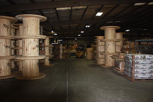 Wood Reels Cable Reels Wire Reels Anderson Forest