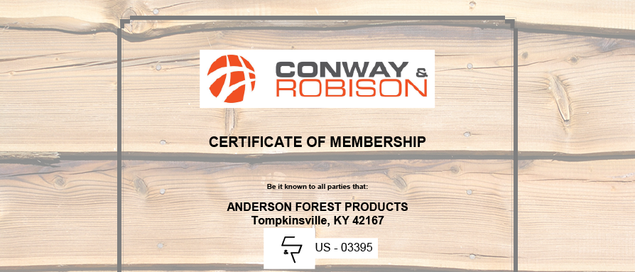 Heat Treatment Certified Anderson Forest Products