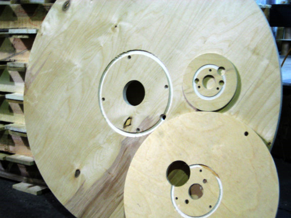 Flanges with unique diameters, start hole sizes, and bolt hole placements
