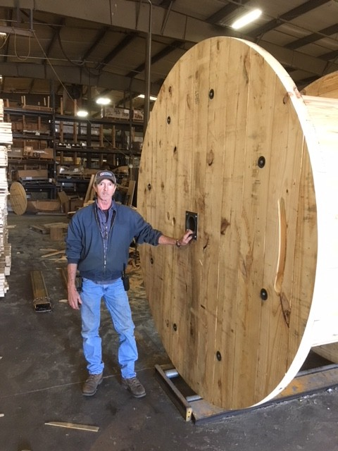 Wood Reels Cable Reels Wire Reels Anderson Forest Products Inc