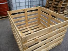 wood crates, boxes