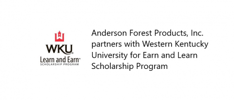 Anderson Forest Products WKU Earn and Learn