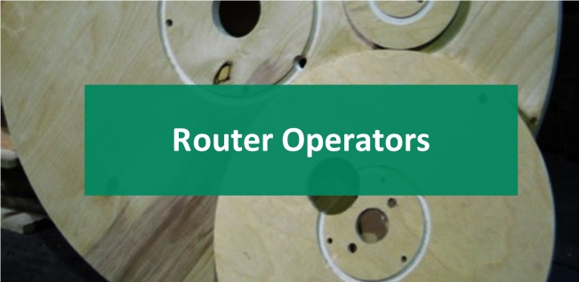 Plywood Flanges from CNC Routers