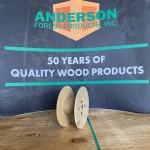 small plywood reel